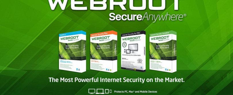 www.webroot.com/safe - Smart Cybersecurity cover