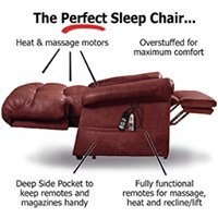 The Perfect Sleep Chair cover