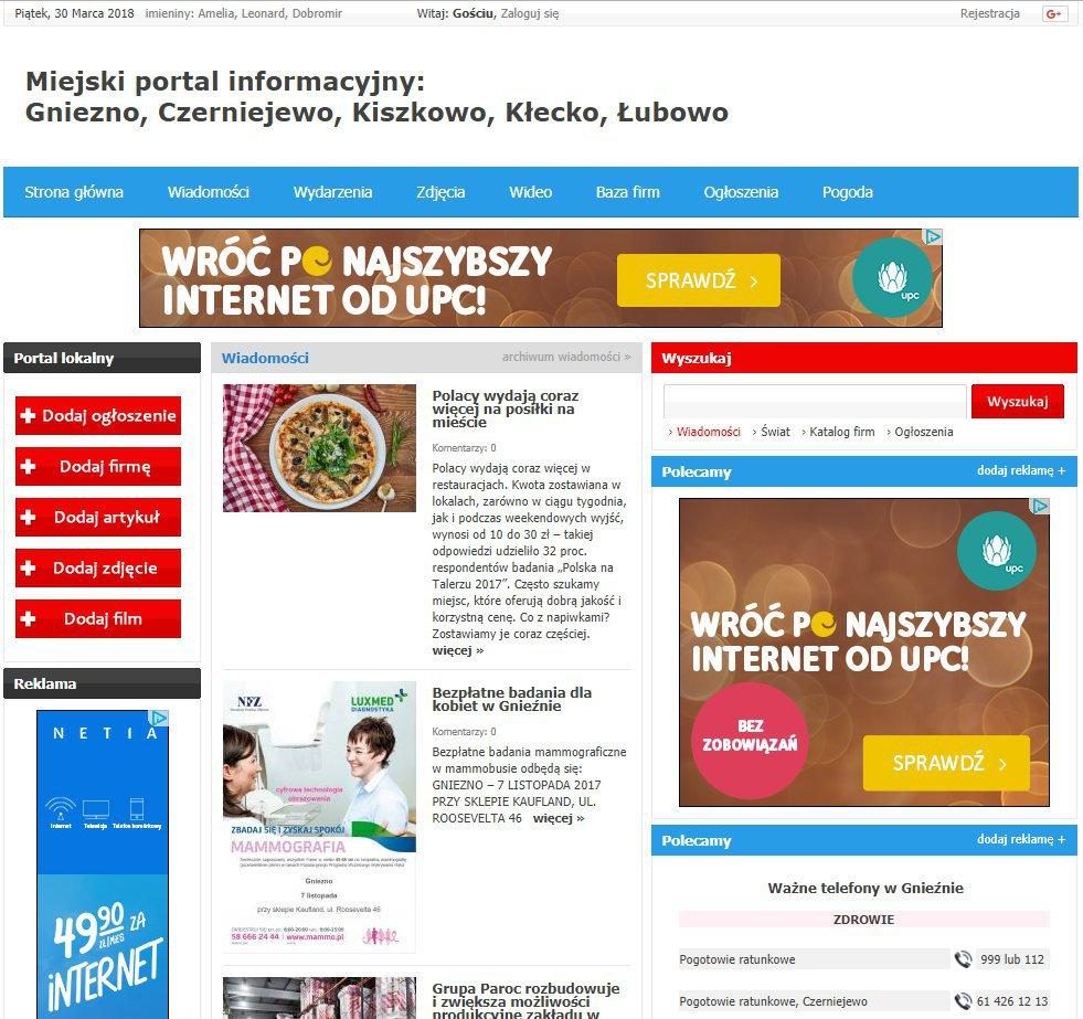 Gniezno - Informator Lokalny cover