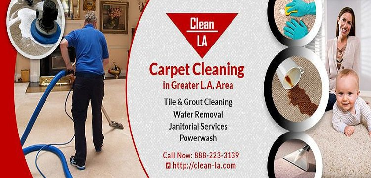Clean-LA Carpet Cleaning cover