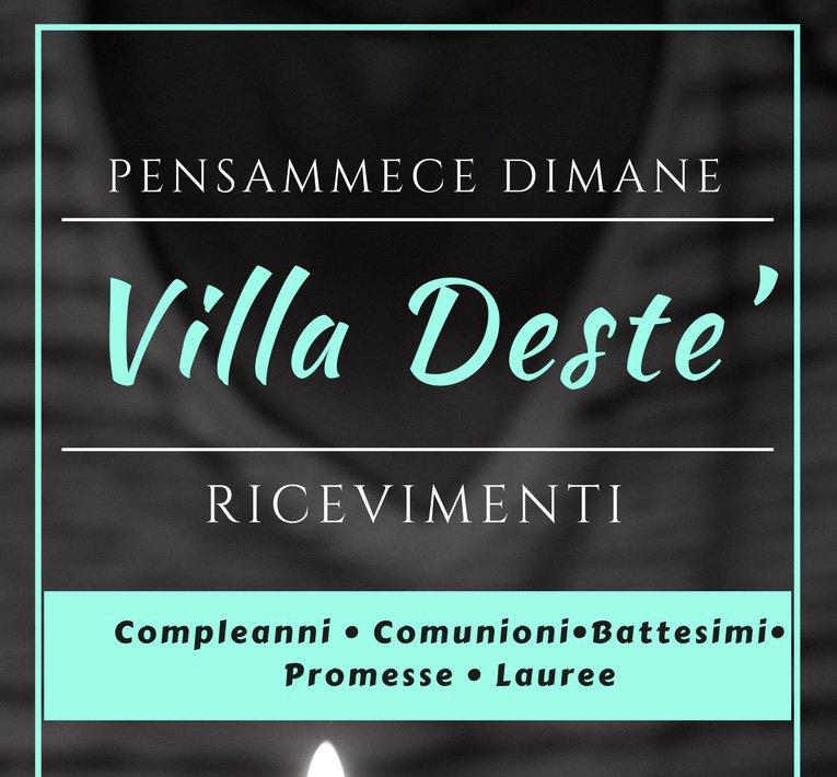 Villa Deste' ricevimenti  cover