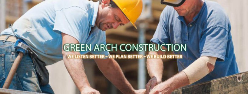 Green Arch Construction, Inc. cover