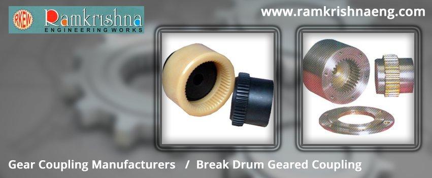 Break Drum Geared Coupling, Gear Coupling Exporters cover