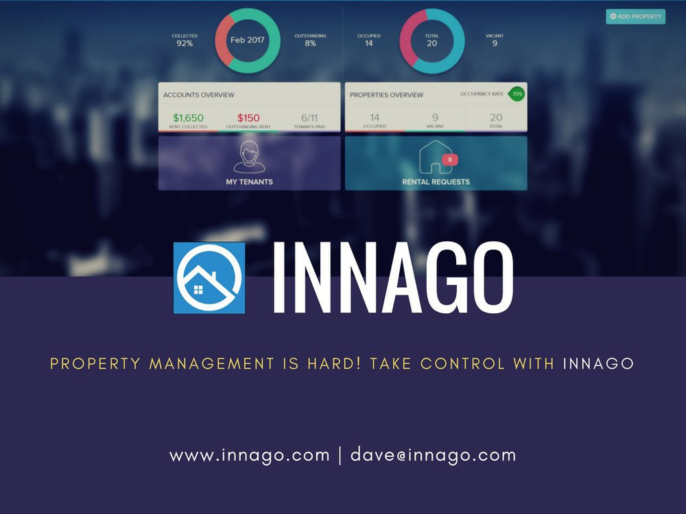 Innago Accounting Software for Landlords cover