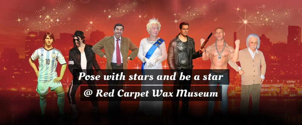Red Carpet Wax Museum cover