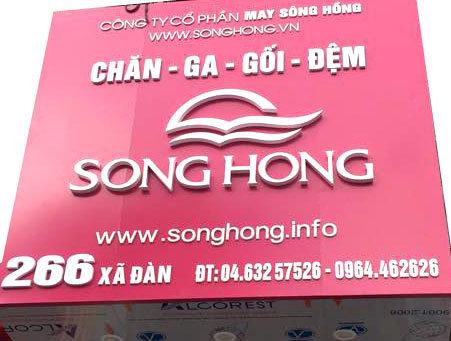 chan ga gối đệm Sông Hồng tại Hà Nội cover
