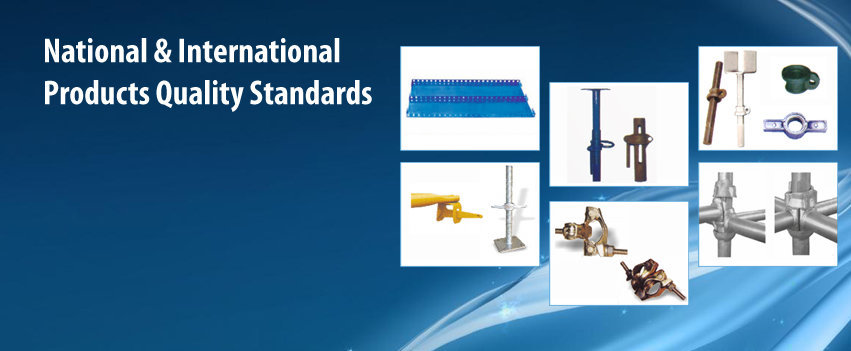 Manufacturers of Cuplock System & Scaffolding Products Indi cover