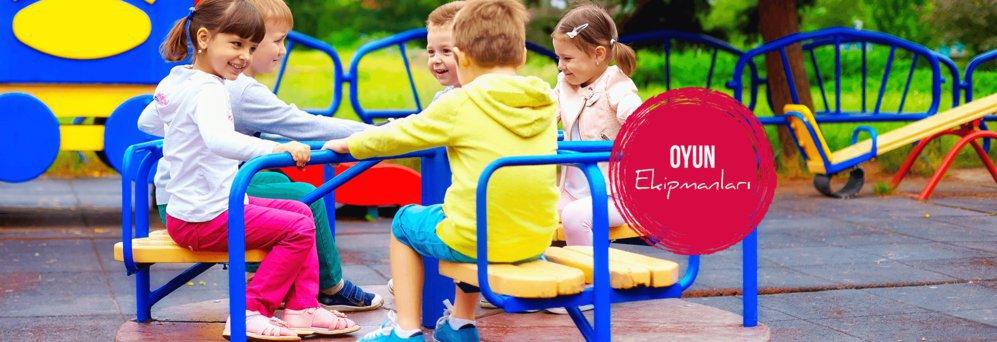 Çocuk oyun grubu parkı Gezegen X Kent Mobilyaları cover