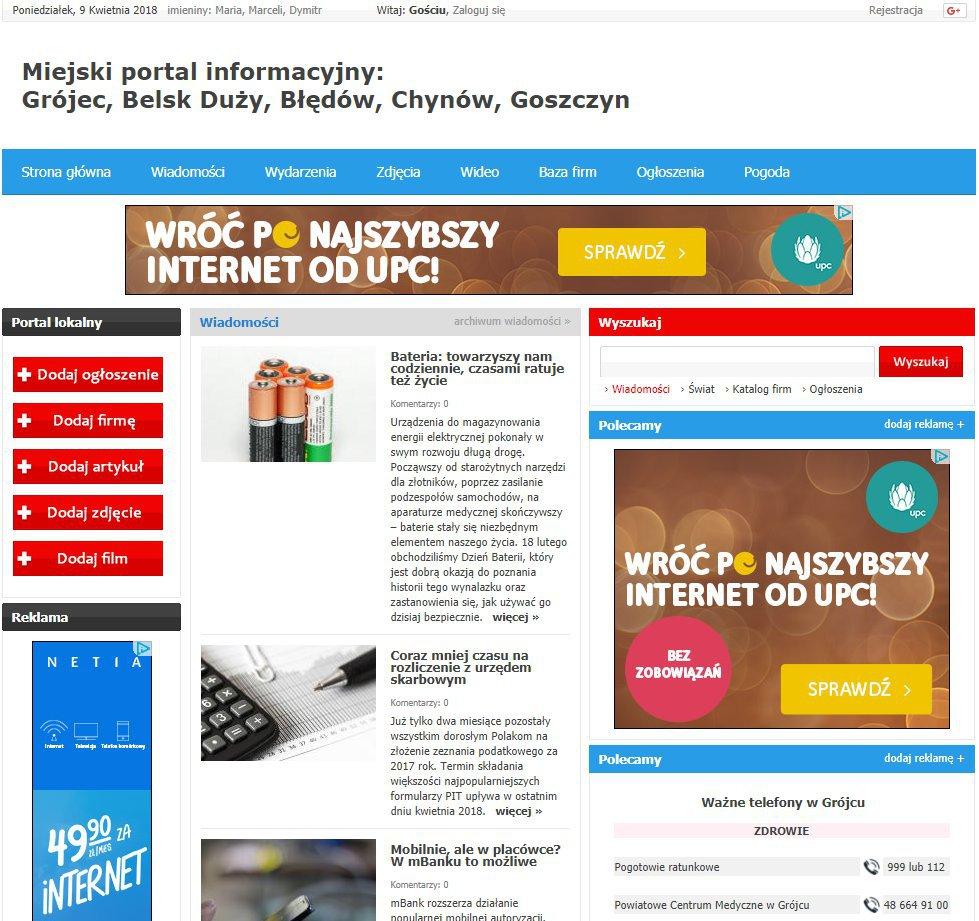 Grójec - Informator Lokalny cover