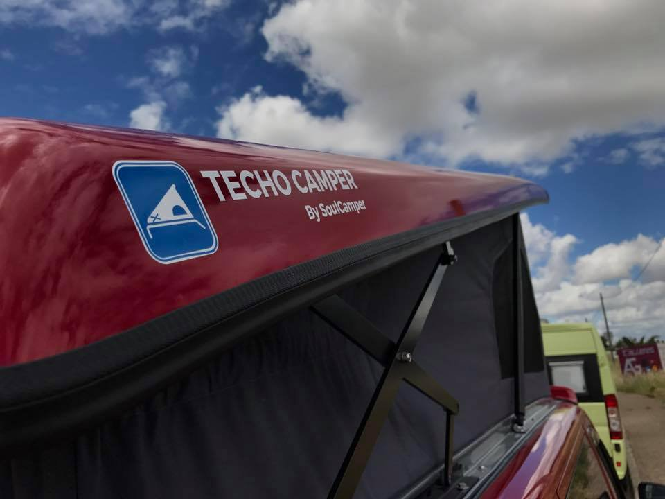 Techo Camper cover