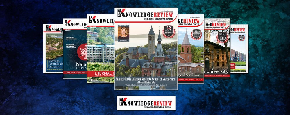 The knowledge Review cover