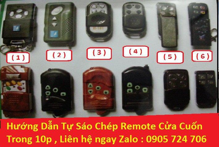 Sao Chép Remote Cửa Cuốn Đà Nẵng - 0905724706 cover