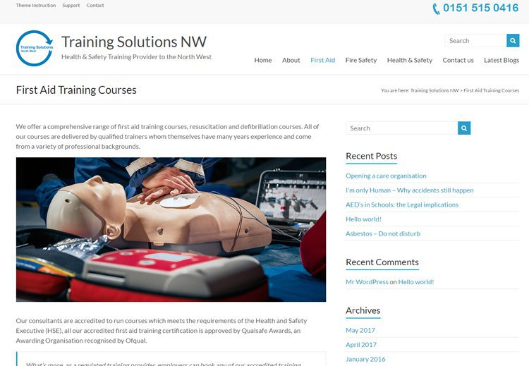 Training Solutions North West cover