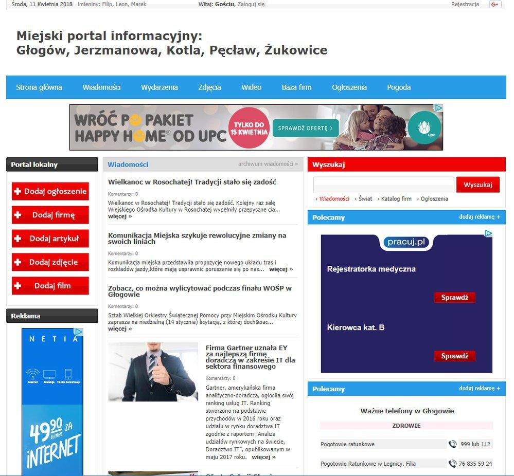 Głogów - Informator Lokalny cover