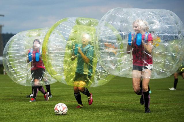 Bubble Soccer Suits cover