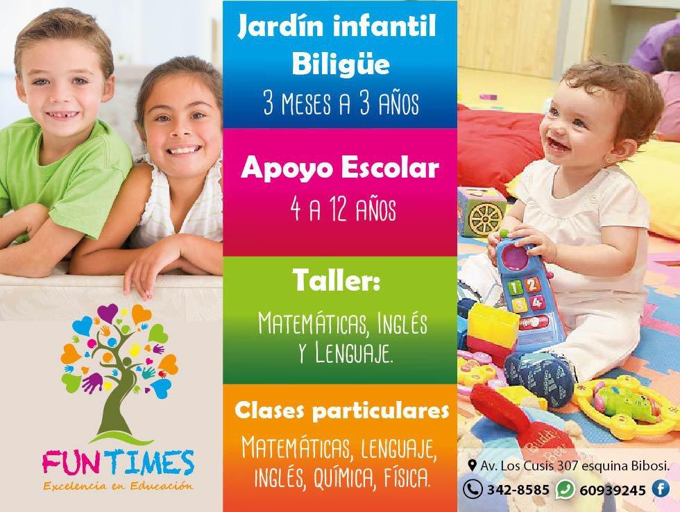 """FUN TIMES """"Excelencia en Educación"""" cover"""