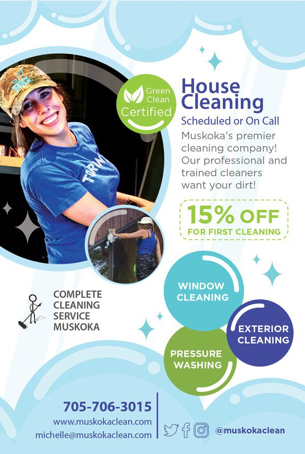 Complete Cleaning Service Muskoka cover
