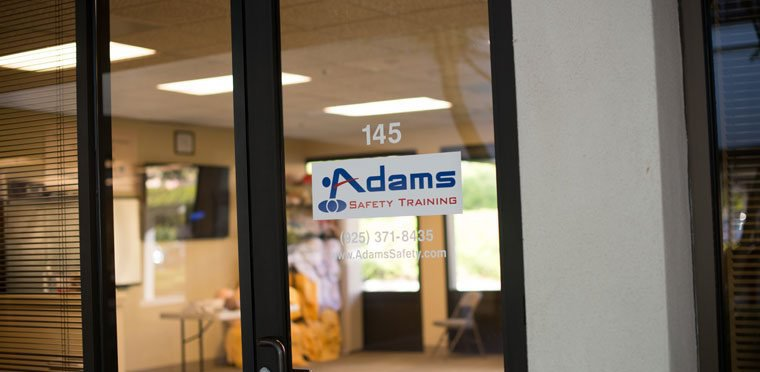 Adams Safety Training in San Ramon cover