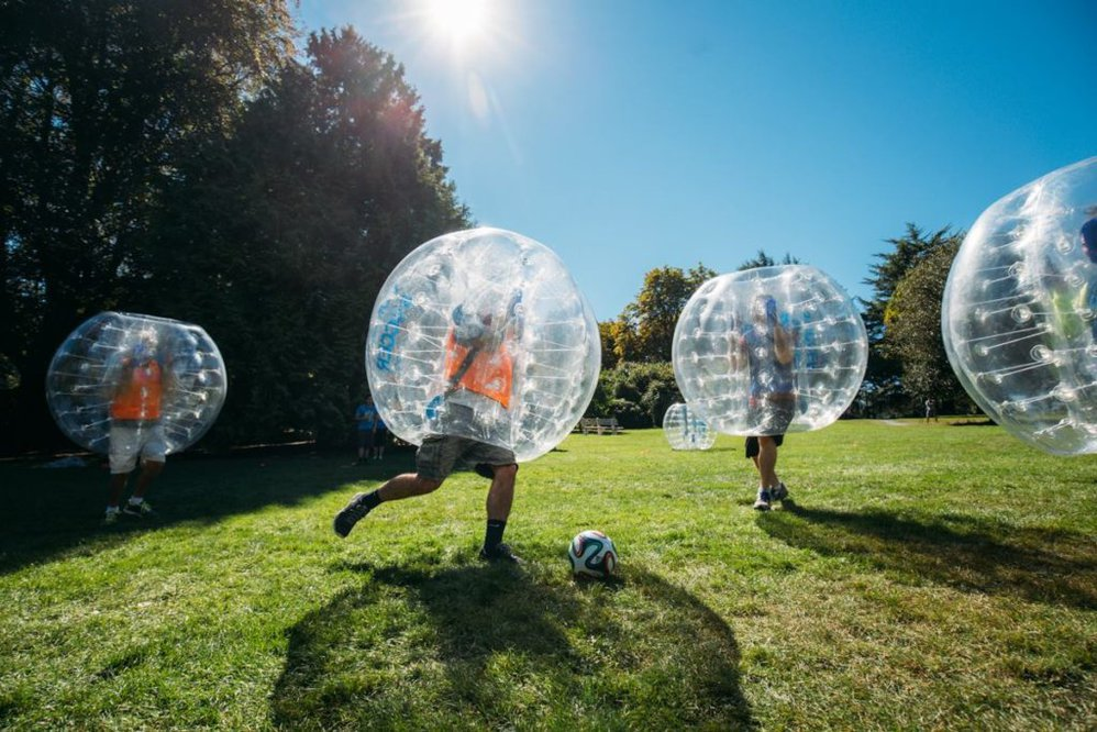 Buy Bubble Soccer From Australia cover