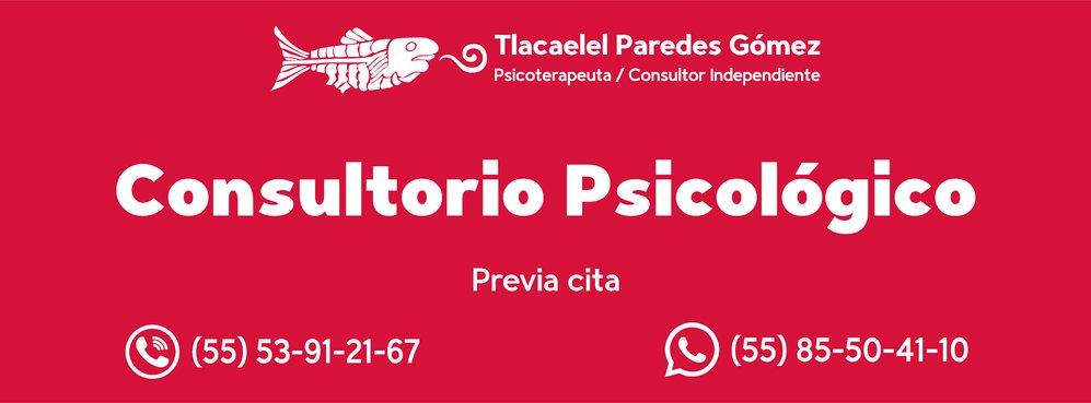 Psicoterapeuta Tlacaelel Paredes Gómez cover