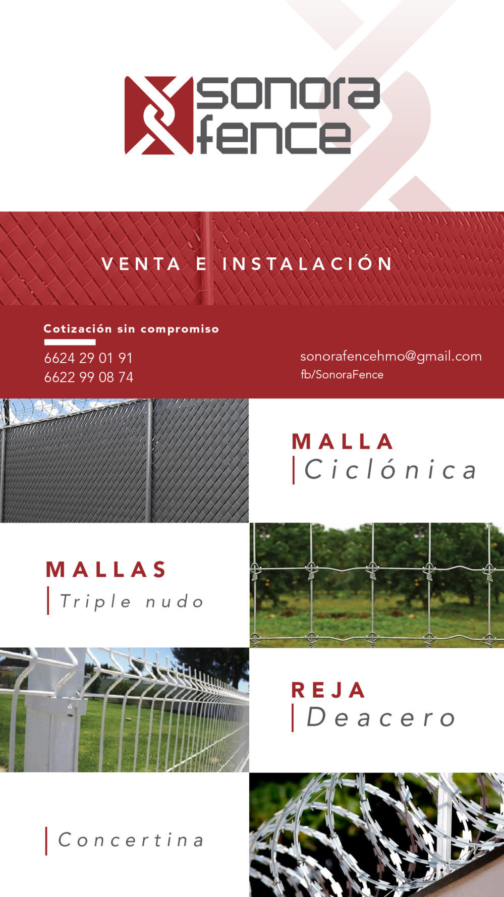Sonora Fence cover
