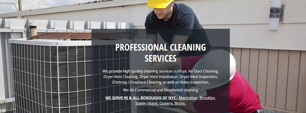 Atlantic Duct & Dryer Vents Cleaning Bayonne cover