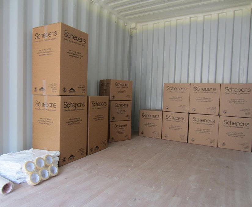 Schepens Storage cover