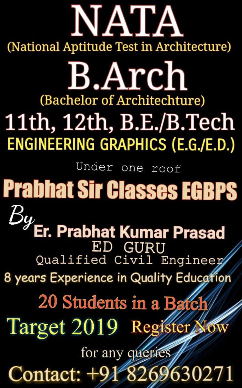 Prabhat Sir Classes EGBPS cover
