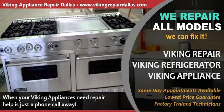 Viking Appliance Repair Dallas cover