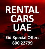 Rental Cars UAE - Mall Of Emirates JBR cover