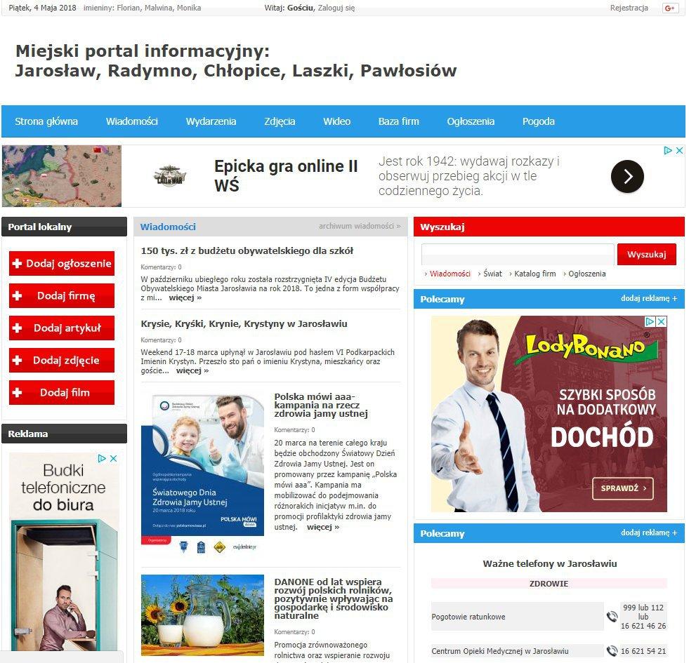 Jarosław - Informator Lokalny cover