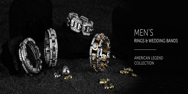 Mens Wedding Bands and Rings  cover