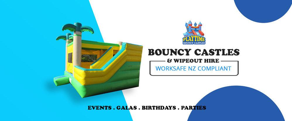 Playtime Bouncy Castles - Rotorua cover