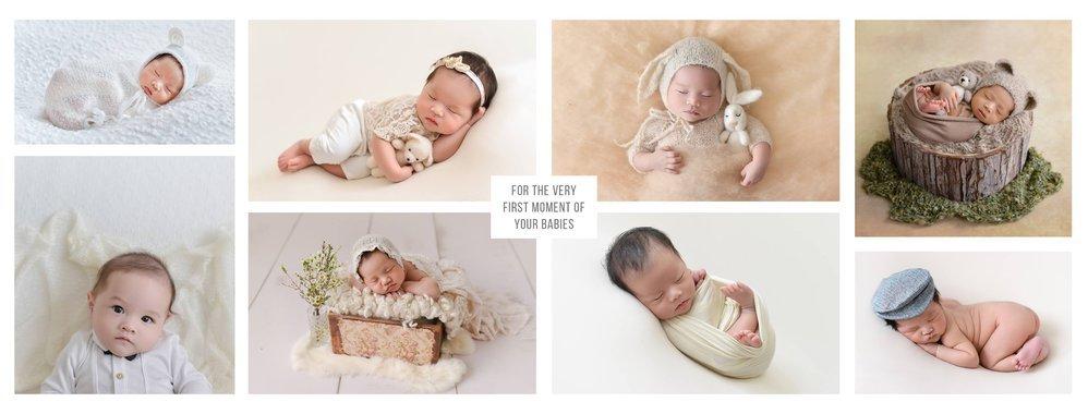 Nino Photostory - Newborn Photography Vietnam cover