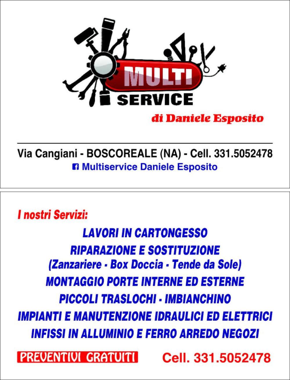 Multiservice Daniele Esposito  cover