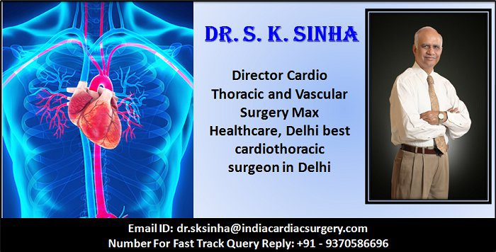 Dr. S. K. Sinha, Best Cardiac Surgeon, India cover