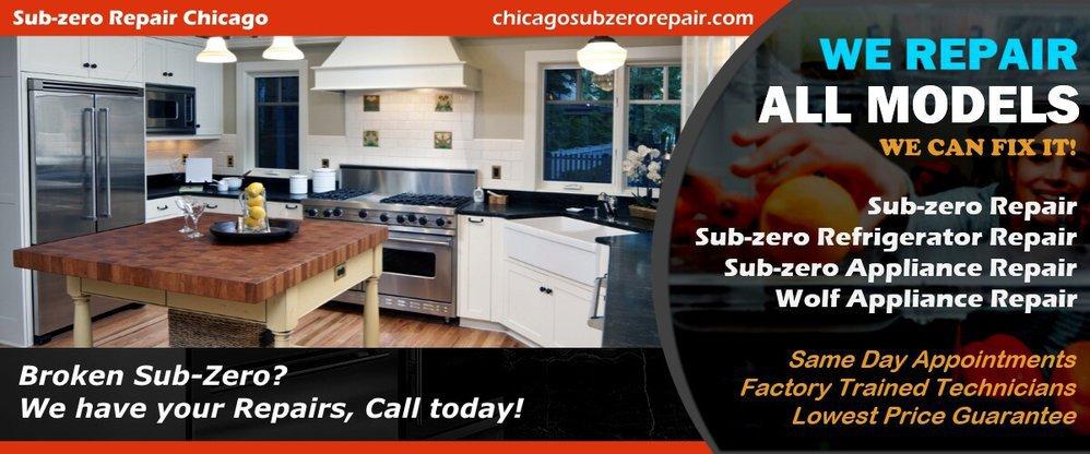 Sub-zero Repair Chicago cover