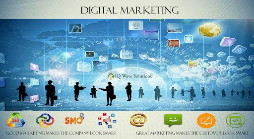 IQ Wave Solutions - Digital Marketing, Web Design & Development Company cover