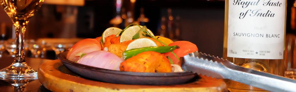 Indian Restaurant Whistler - The Royal Taste of India cover
