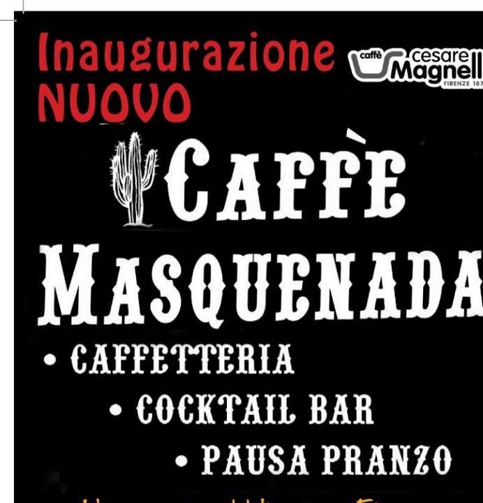 MasquenadaCaffè cover