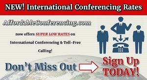 Affordable Conferencing cover