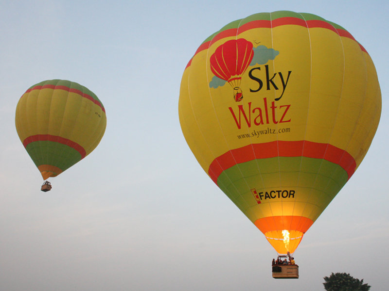 SkyWaltz Balloon Safari cover