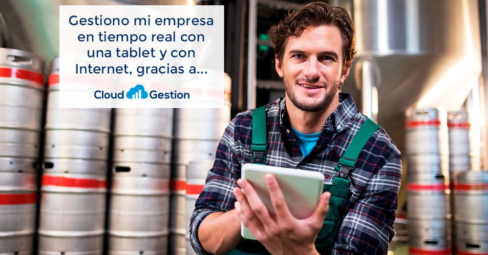 Cloud Gestion, aplicación de facturación online cover