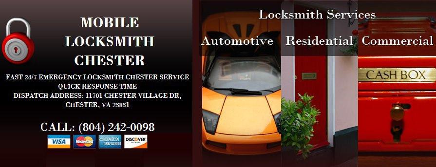 Mobile Locksmith Chester cover