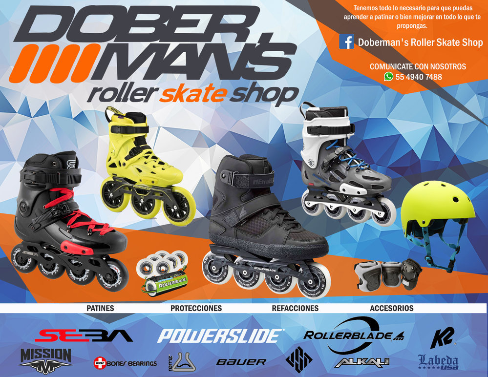 Doberman´s Roller Skate Shop cover