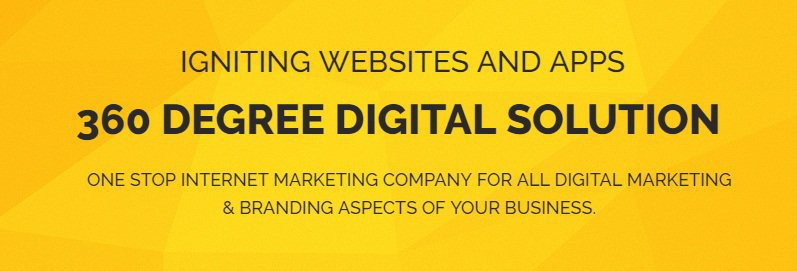 Web Ignito - Digital Marketing Company in India cover