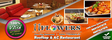 11 FLOWERS Rooftop & AC Restaurant cover