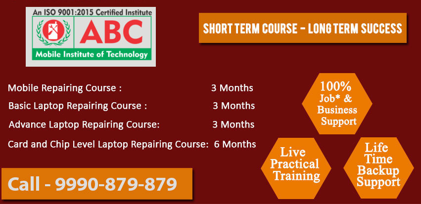 ABCMIT Mobile Repairing Course in Delhi Delhi cover