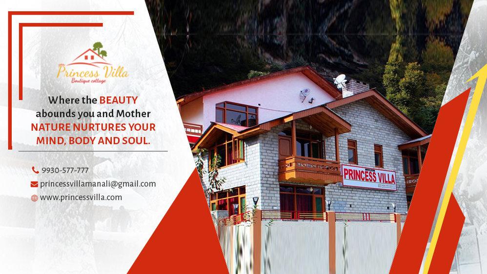 Princess Villa  Shaleen Road, Baror, Manali-175131  Himachal Pradesh  cover