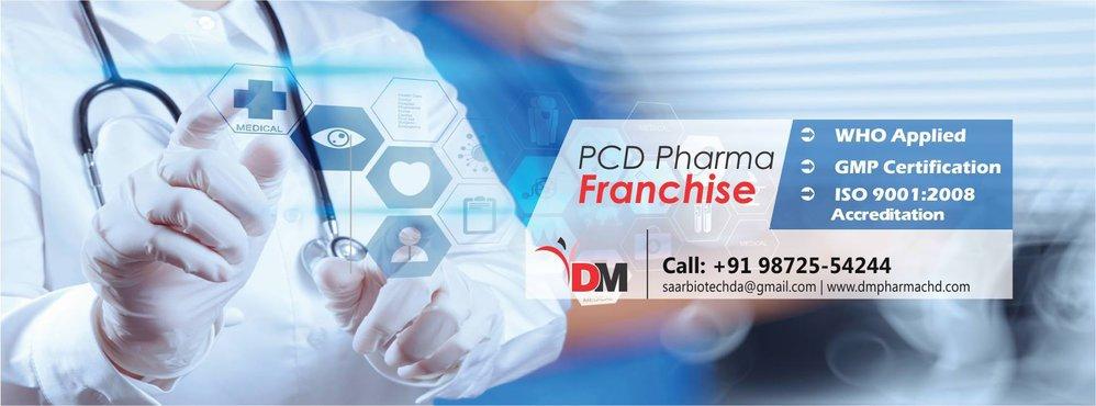 DM Pharma - Pharma Franchise Company cover